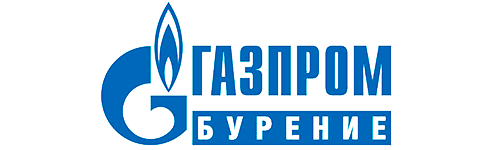 Logo Gazprom drilling